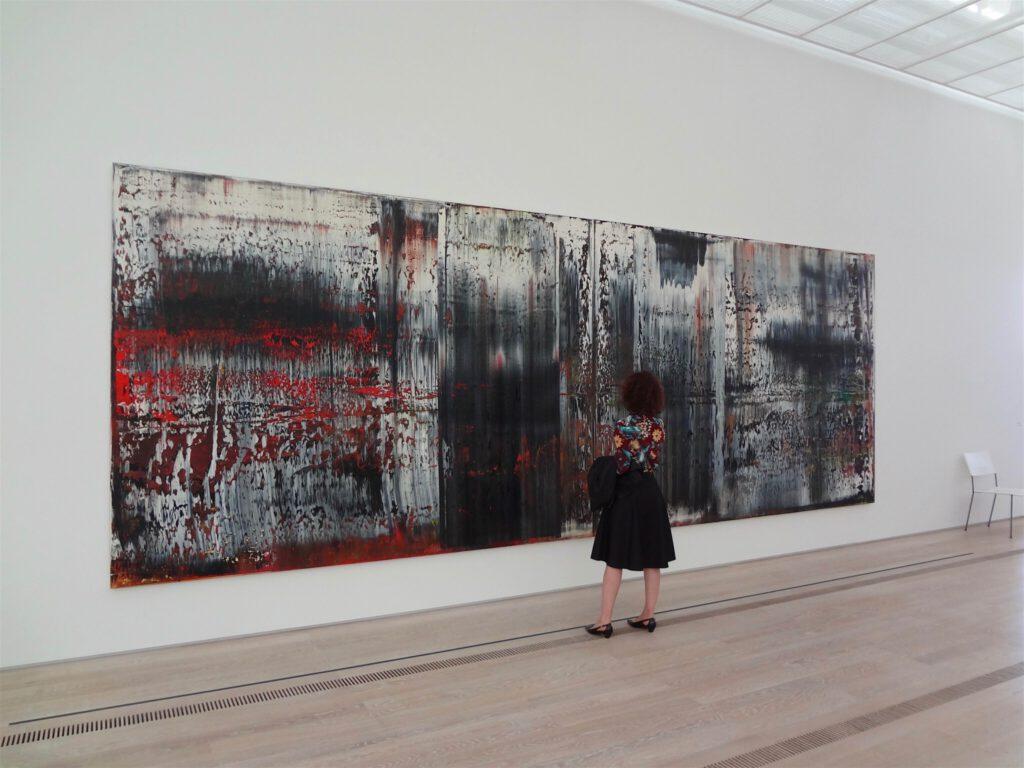 Gerhard Richter ゲルハルト・リヒター Sankt Gallen, 1989 Öl auf Leinwand, Universität St. Gallen