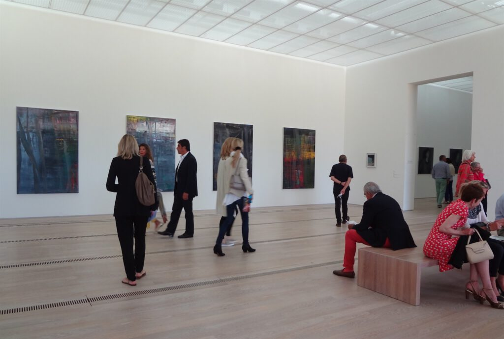 Gerhard Richter solo show ゲルハルト・リヒター 個展 exhibition view @ Beyeler Fondation Riehen 2014