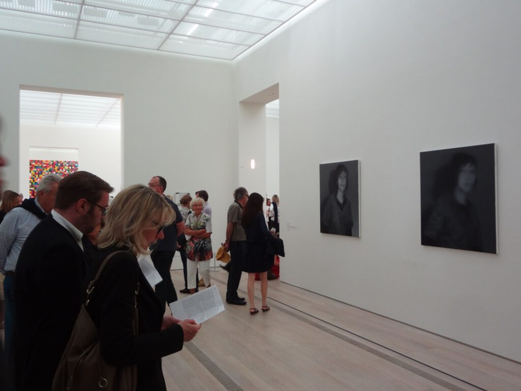 "Gerhard Richter ゲルハルト・リヒター ""18. Oktober 1977"", 1988, exhibition view @ Beyeler Fondation Riehen 2014"