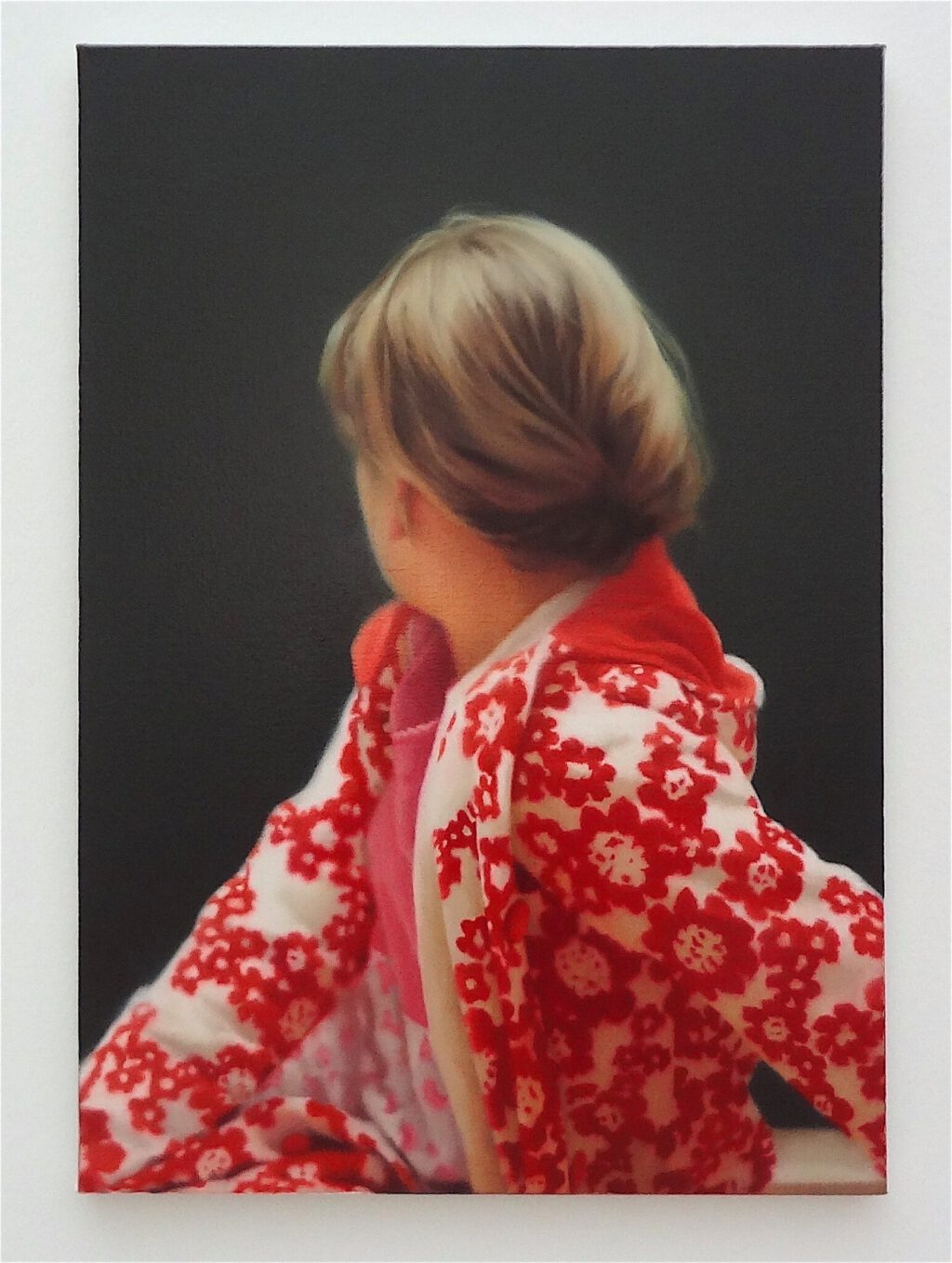 Gerhard Richter ゲルハルト・リヒター Betty 1988, Öl auf Leinwand. Saint Louis Art Museum