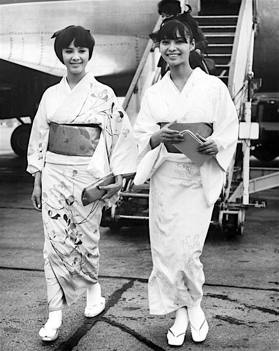 HAMA Mie 浜美枝と若林映子 WAKABAYASHI Akiko