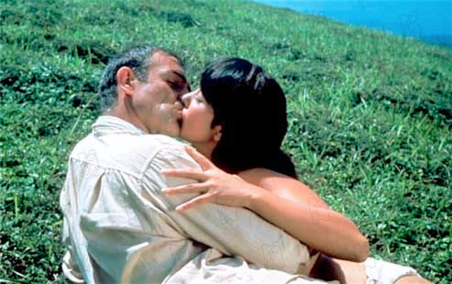 HAMA Mie 浜美枝とSean Connery ショーン・コネリー 007は二度死ぬ