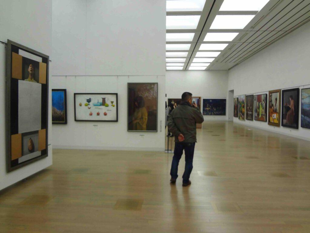 Hakujitsukai Art Exhibition 白日会展 2015年 @ 国立新美術館、東京・六本木 National Art Center Tokyo, Roppongi3