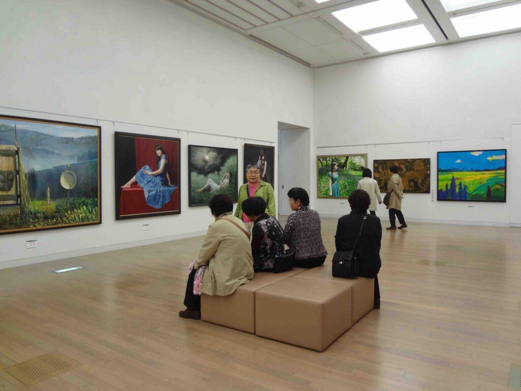 Hakujitsukai Art Exhibition 白日会展 2015年 @ 国立新美術館、東京・六本木 National Art Center Tokyo, Roppongi4