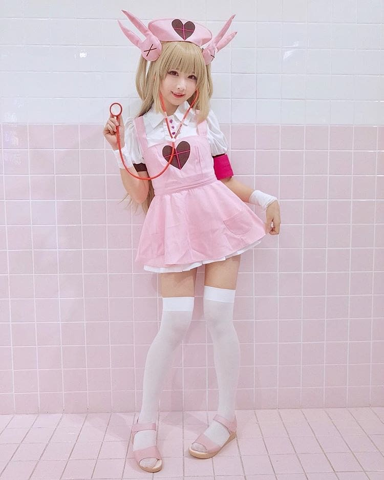 Japanese Cosplayer as NANA SATORI, courtesy creative common sense