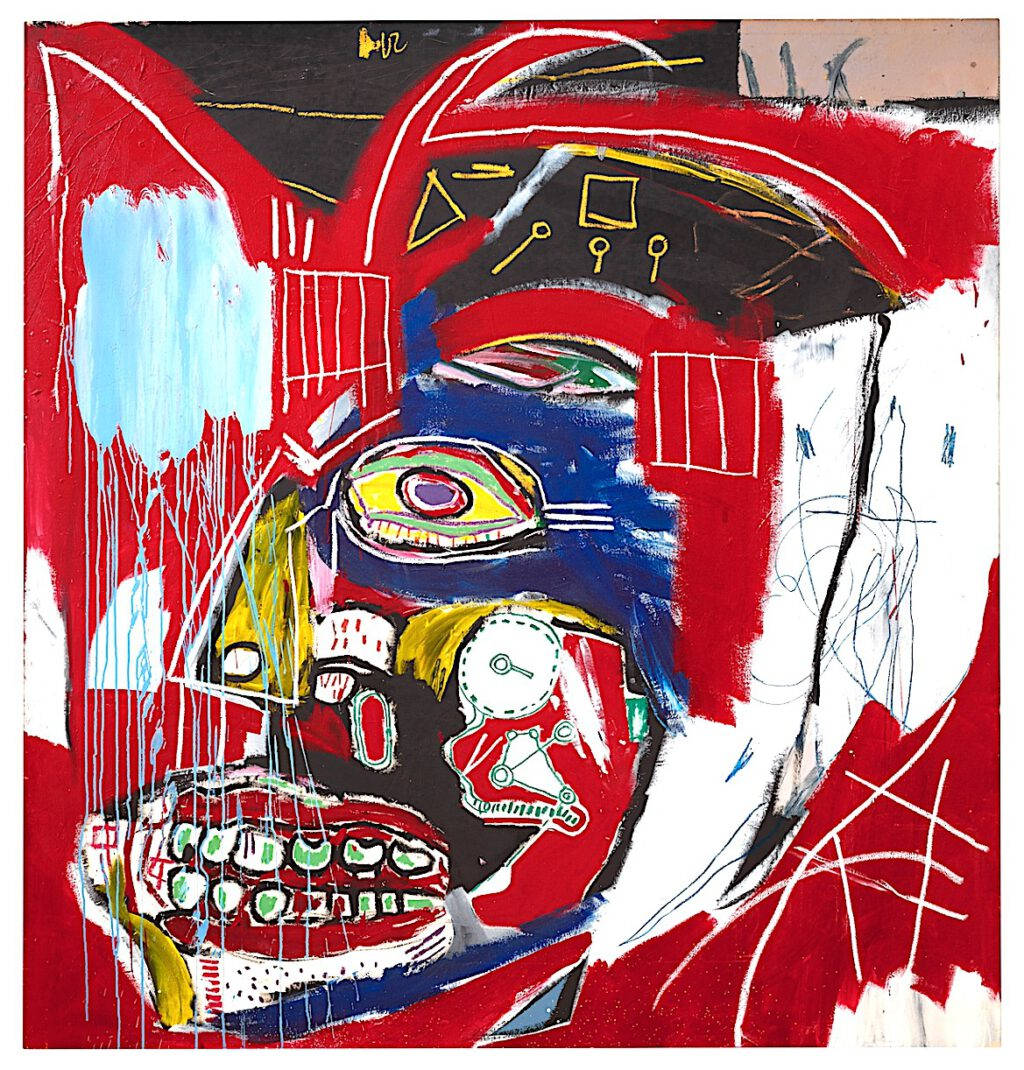 Jean-Michel Basquiat In This Case From 1983