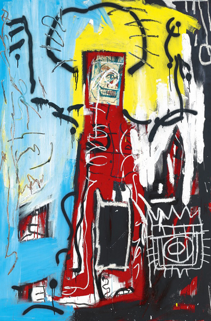 Jean-Michel Basquiat, Untitled (One Eyed Man or Xerox Face) 1982