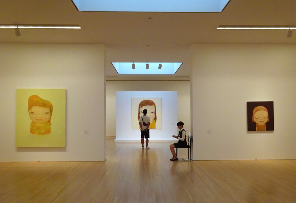 NARA Yoshitomo solo show 奈良美智個展 2017 展示風景 @ 豊田市美術館 Toyota Municipal Museum of Art, courtesy creative common sense