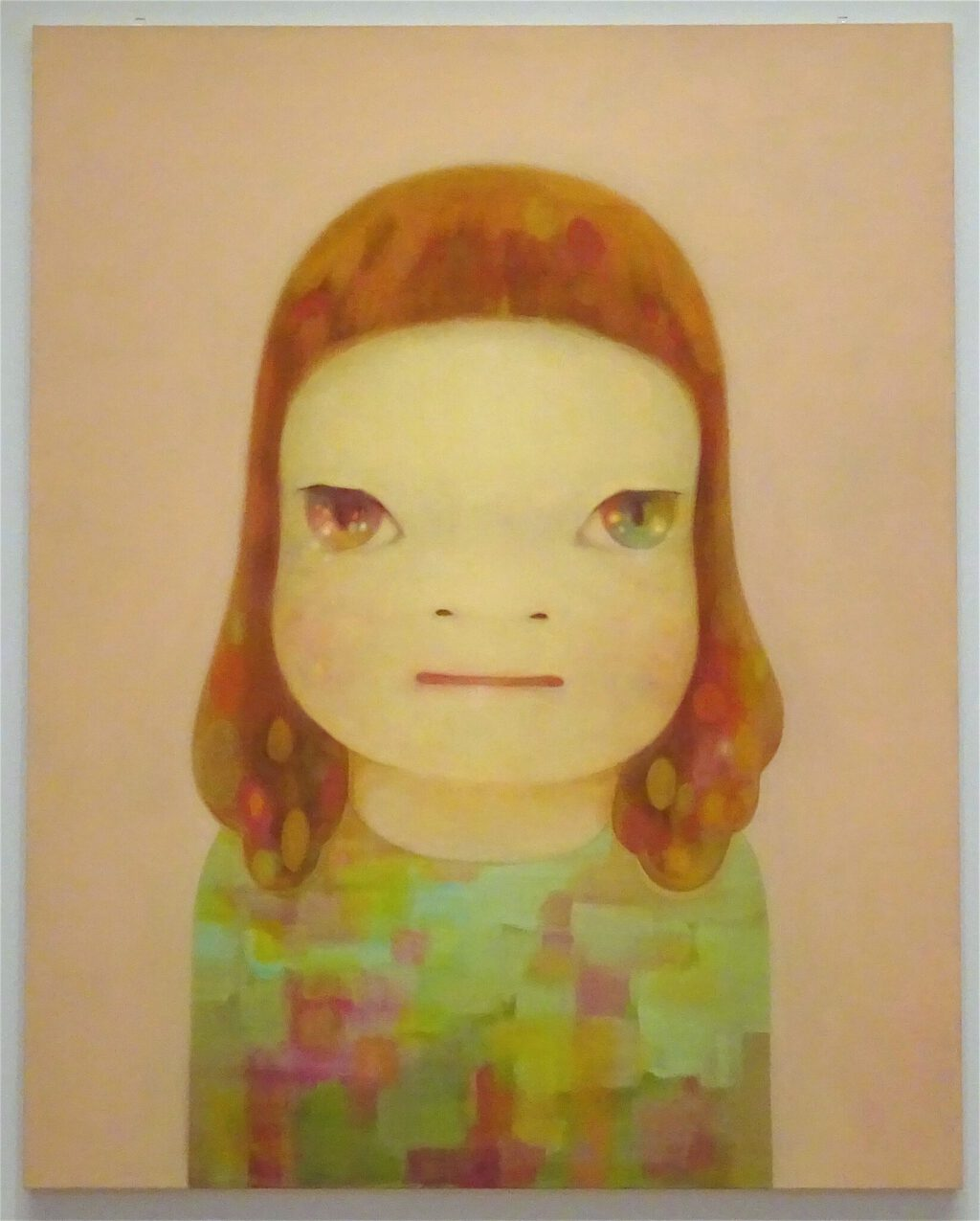 NARA Yoshitomo 奈良美智 Miss Spring, 2012 @ 奈良美智 for better or worse 個展 solo show 2017, 豊田市美術館 Toyota Municipal Museum of Art, courtesy creative common sense