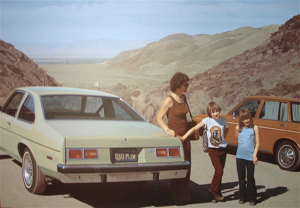 Robert Bechtle 'Agua Caliente Nova' 1975
