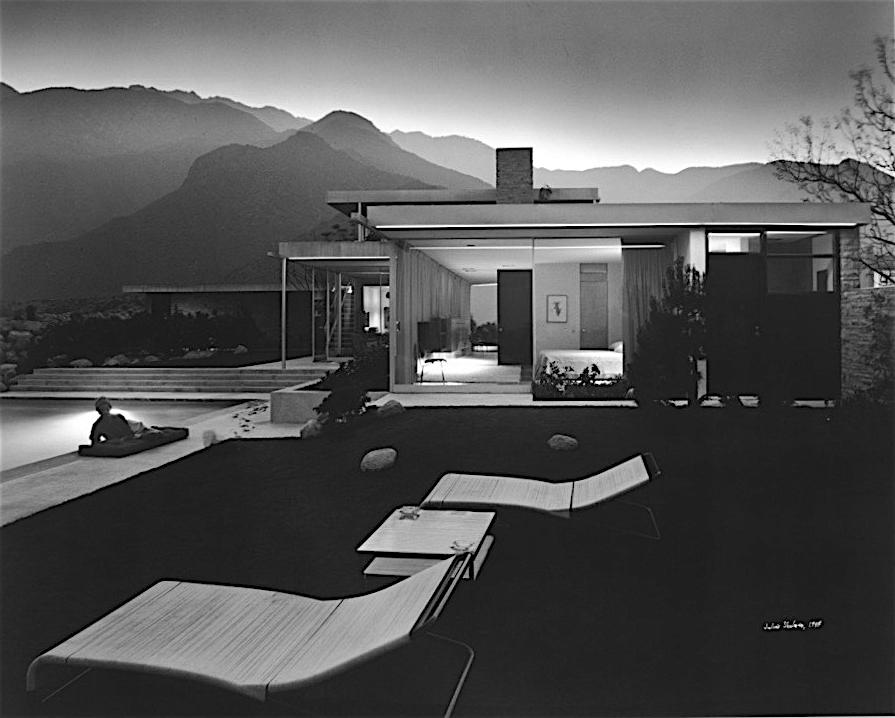 The American Experience. California Palm Springs, Kaufmann House 1947