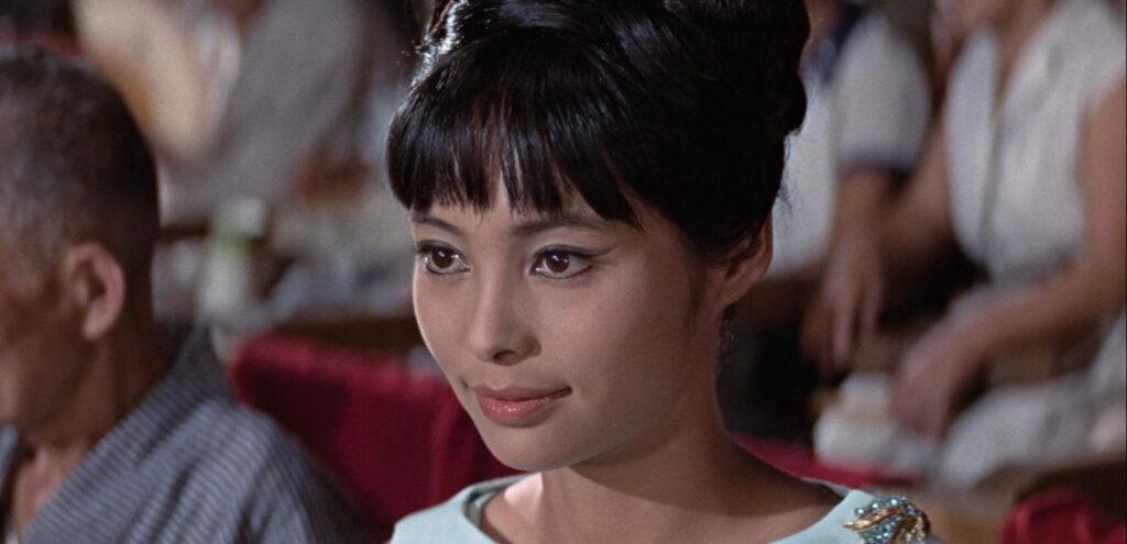 WAKABAYASHI Akiko 若林映子 007は二度死ぬ