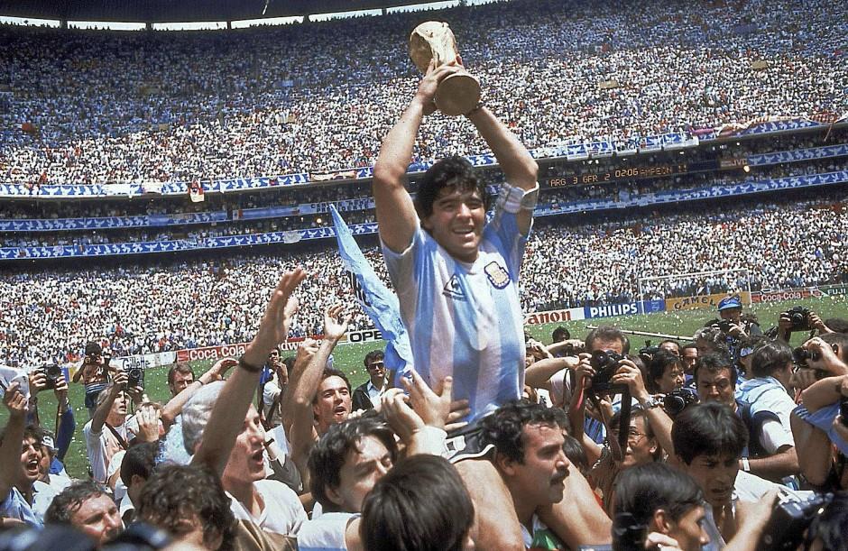 ディエゴ・マラドーナ 1986年のワールドカップ・メキシコ大会