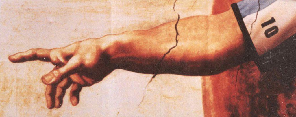 マラドーナ・神の手