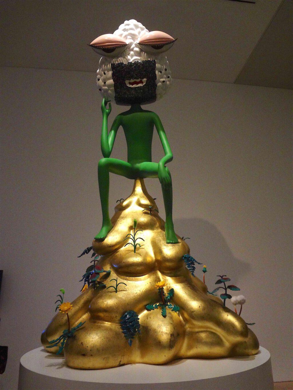 """会田誠「考えない人」AIDA Makoto """"The Non-Thinker"""" 2012 、FRP、その他 @ 森美術館 MORI ART MUSEUM"""