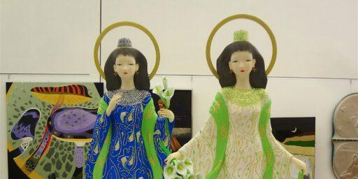 日本初、夫婦で文化勲章。日展理事長の奥田小由女先生におめでとうございます