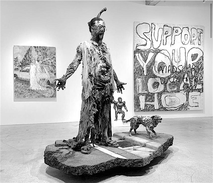 "MURAKAMI's new sculptural work @ ""Healing x Healing"" March 18 – 27, 2021, Kaikai Kiki Gallery"