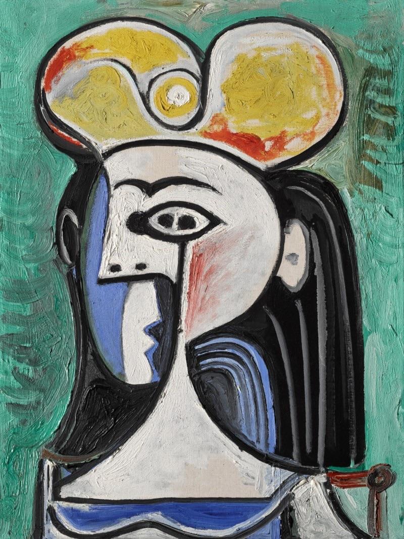 パブロ・ピカソ Buste de femme assise 1962