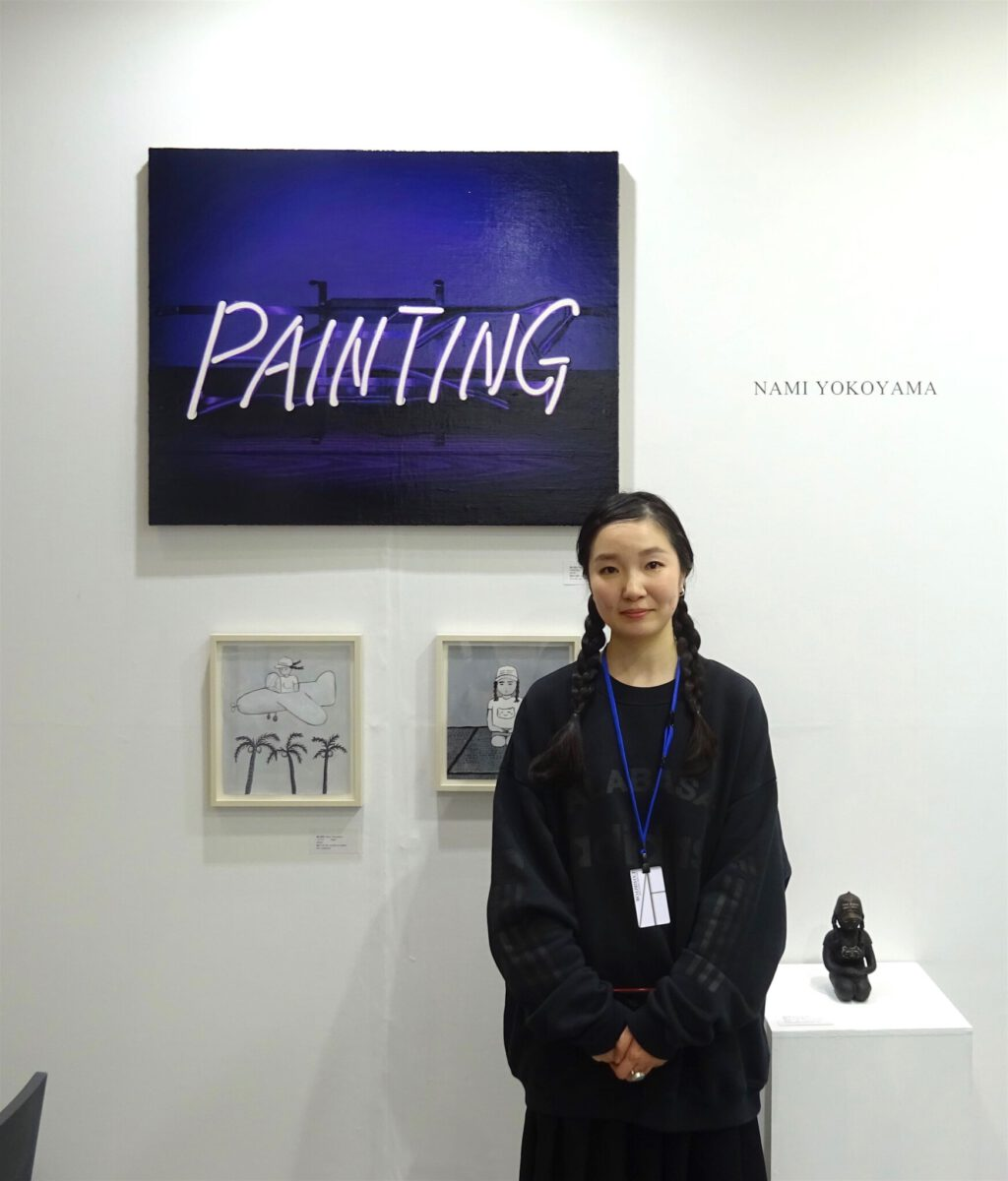 横山奈美 YOKOYAMA Nami @ booth Kenji Taki Gallery, ART FAIR TOKYO 2018