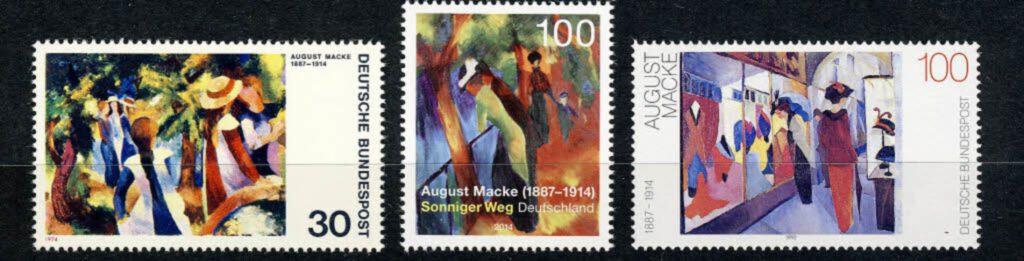 アウグスト・マッケ August Macke (1887 – 1914)