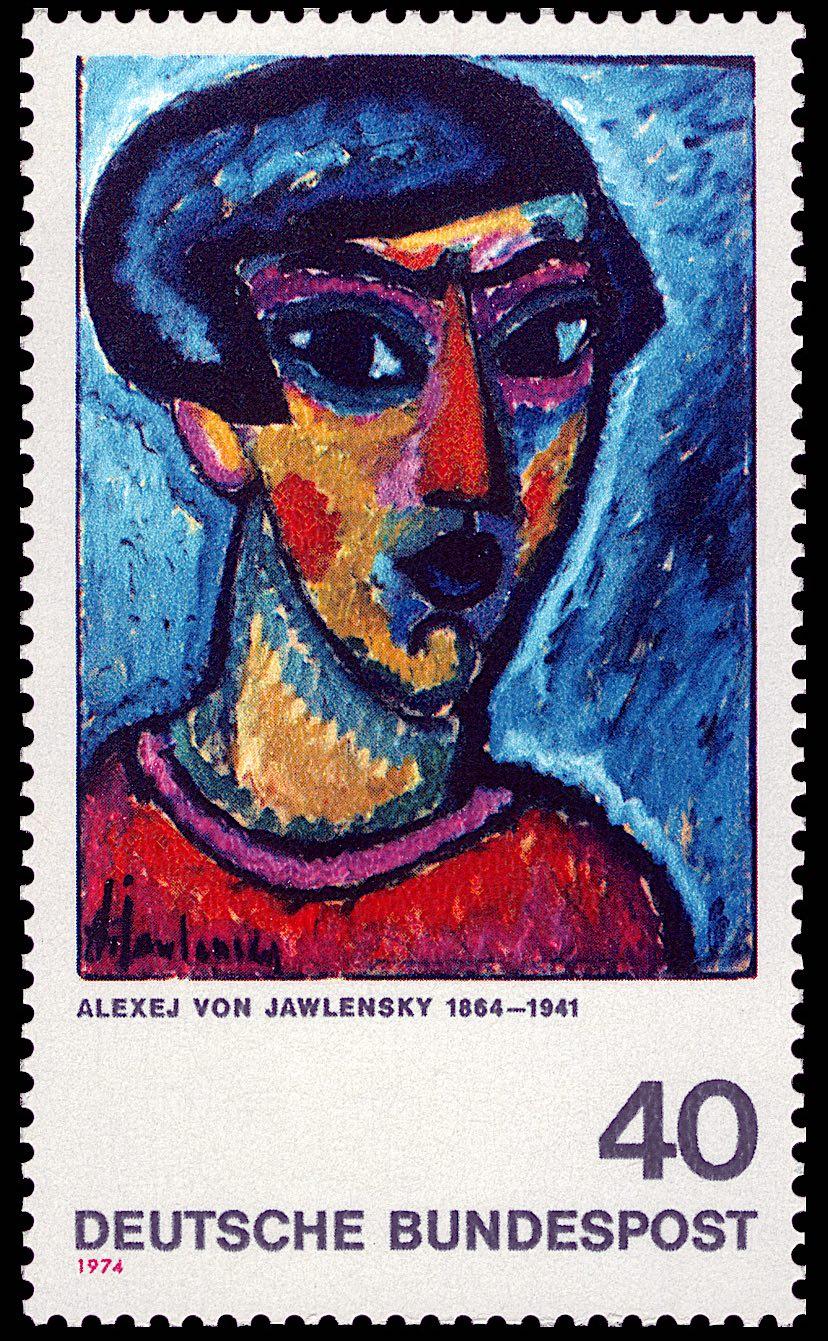 アレクセイ・フォン・ヤウレンスキー Alexej von Jawlensky (1864 – 1941)