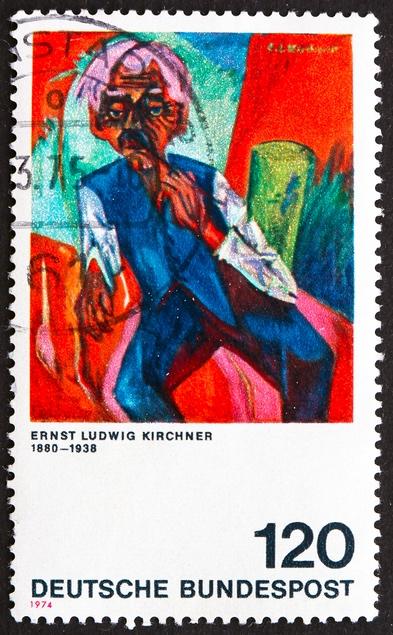 エルンスト・ルートヴィヒ・キルヒナー Ernst Ludwig Kirchner (1880 – 1938)