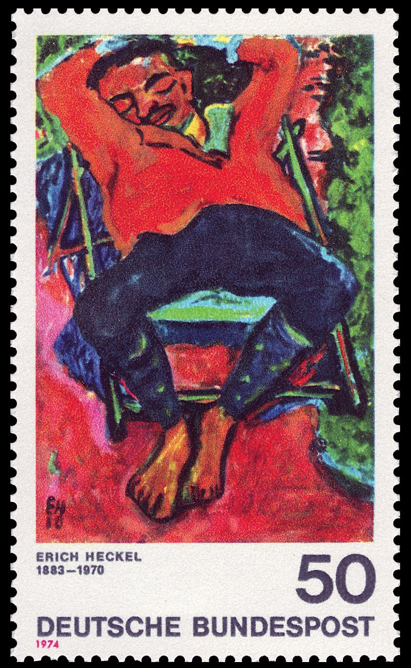 エーリッヒ・ヘッケル Erich Heckel (1883 – 1970)