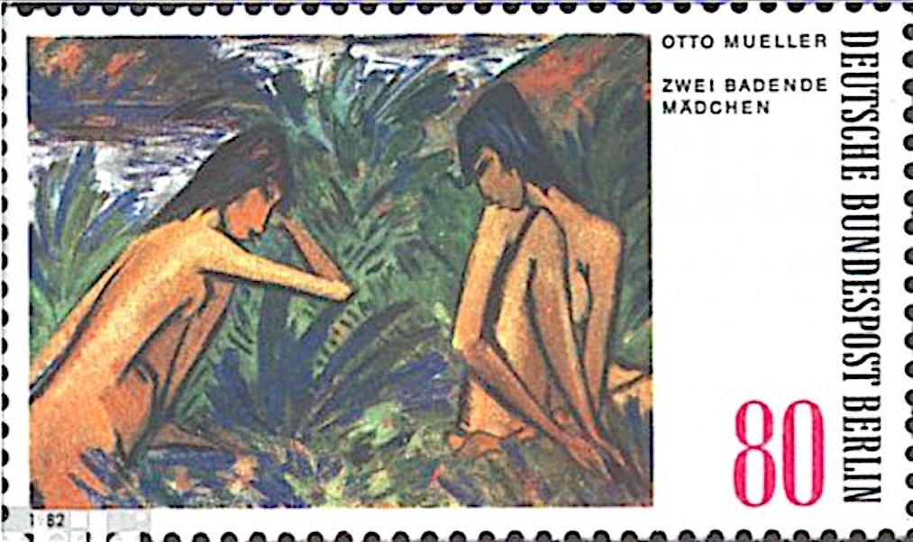 オット・ミュラー Otto Mueller (1874 – 1930)