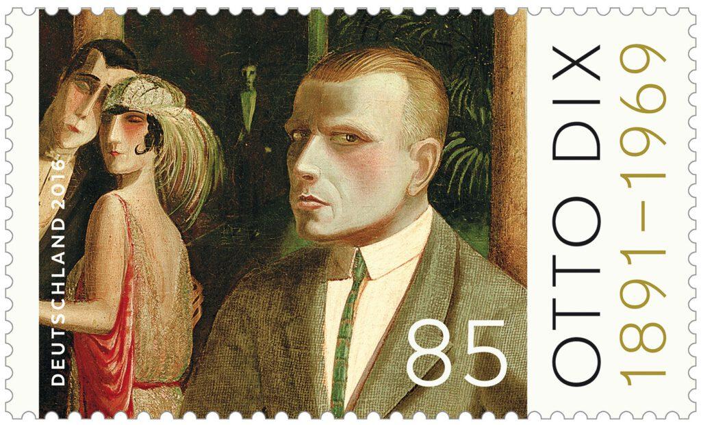オットー・ディクス Otto Dix (1891 – 1969)