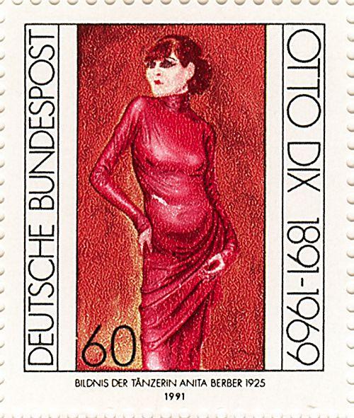 オットー・ディクス Otto Dix (1891 – 1969) Anita Berber