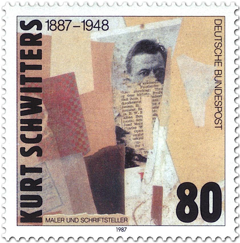クルト・シュヴィッタース Kurt Schwitters (1887 – 1948)