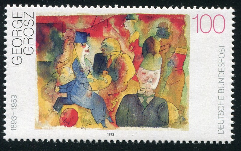 ジョージ・グロス George Grosz (1893 – 1959)