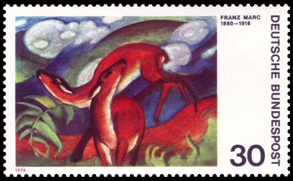 フランツ・マルク Franz Marc (1880 – 1916)