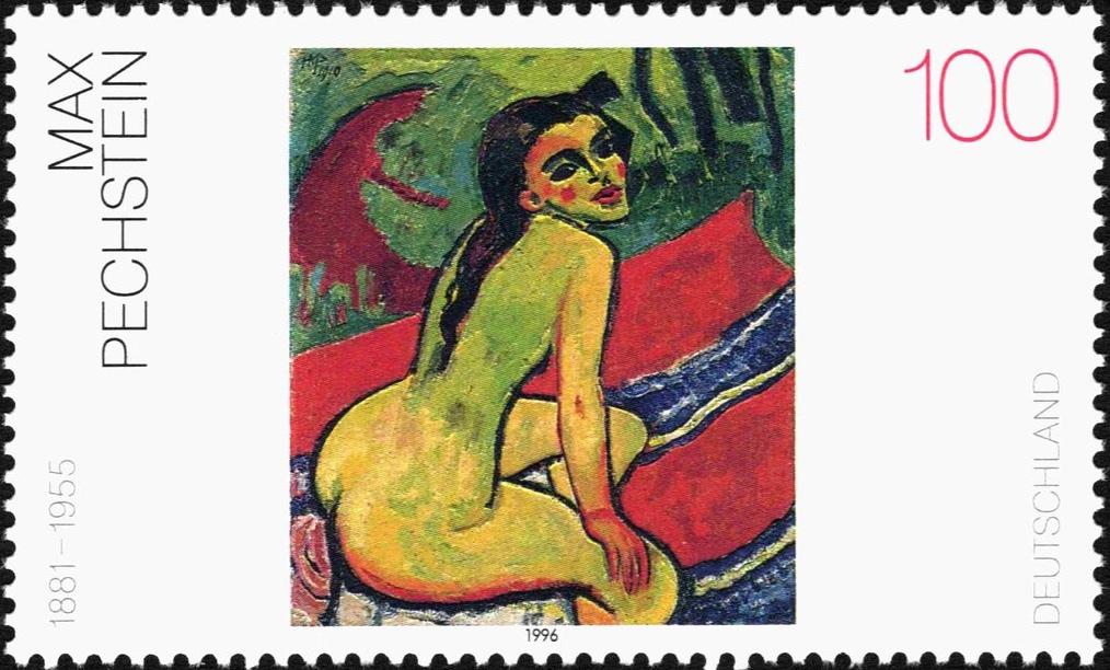 マックス・ペヒシュタイン Max Pechstein (1881 – 1955)