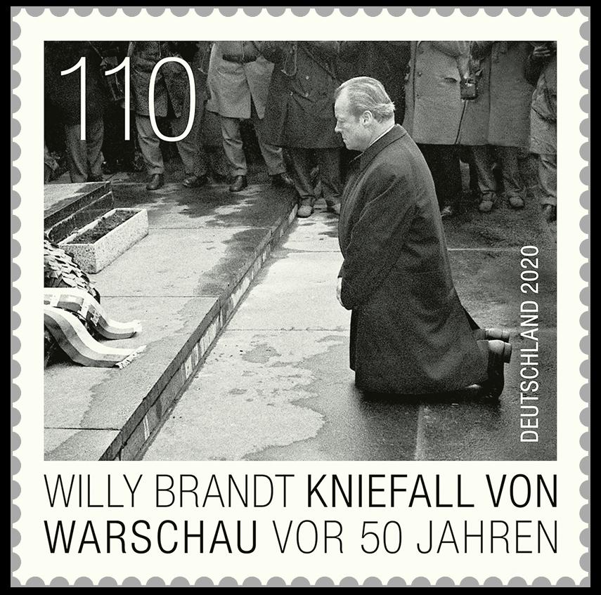 元ドイツ連邦共和国首相のヴィリー・ブラント「ワルシャワでの跪き」