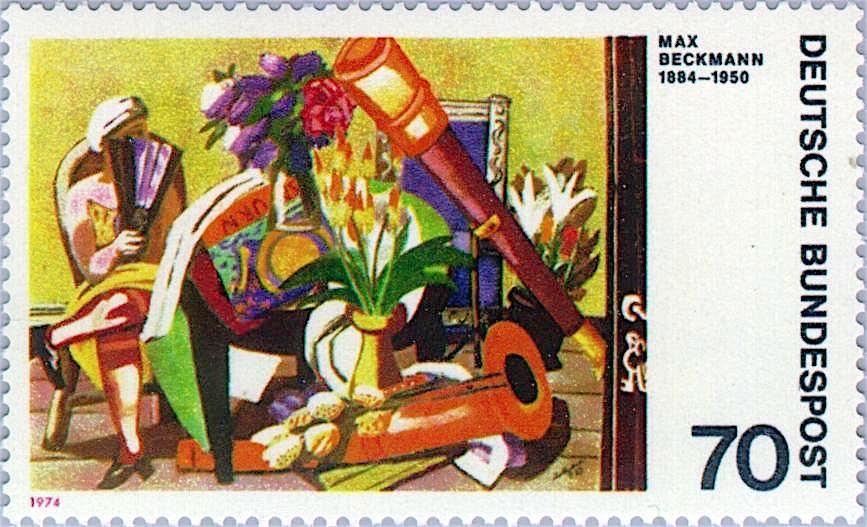 Max Beckmann マックス・ベックマン (1884-1950)