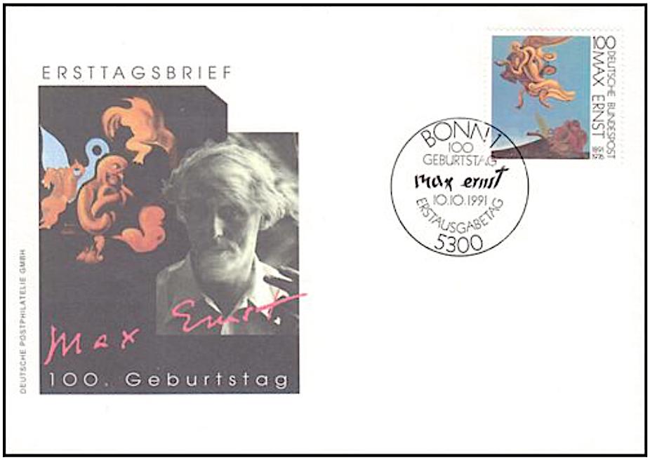 Max Ernst マックス・エルンスト (1891-1976)