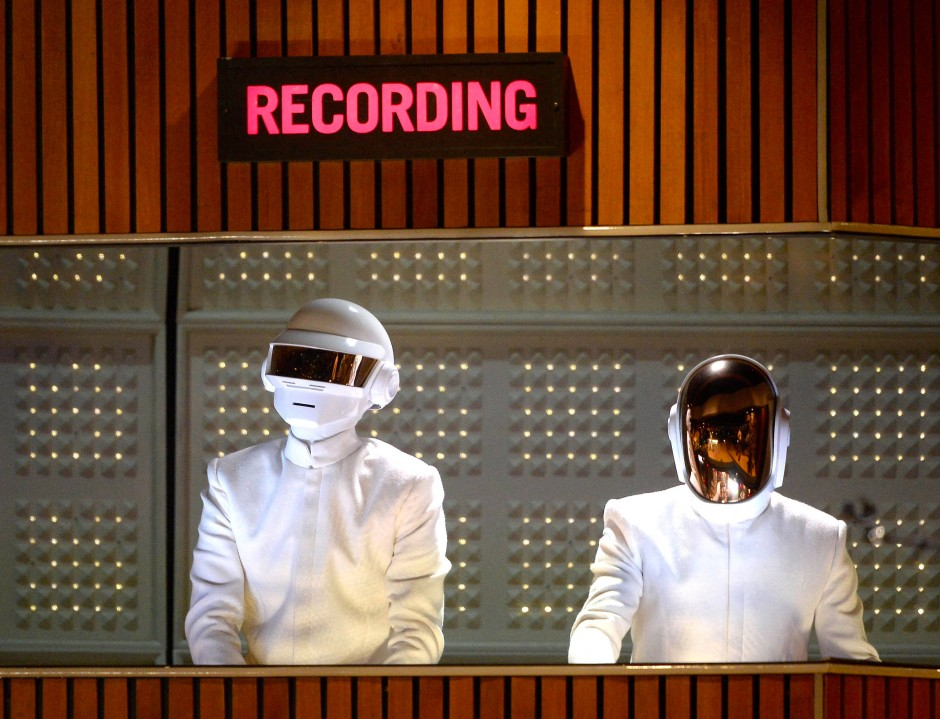 ダフト・パンク DAFT PUNK @ Grammy Awards