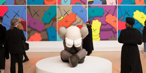 New York's Arty American Bullshit Spreads Around The World: KAWS.