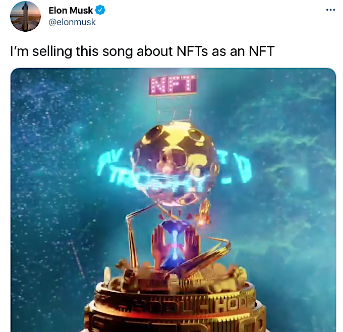 イーロン・マスク Elon Musk NFT