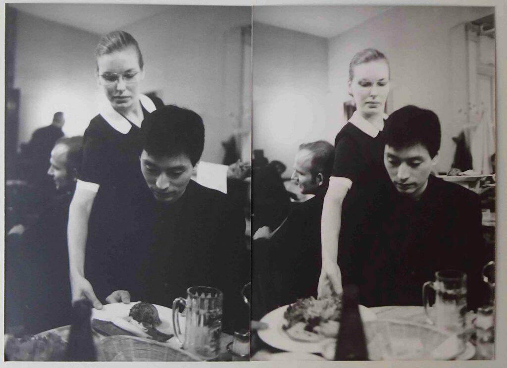 島田雅彦 SHIMADA Masahiko, Berlin, Cafe Einstein 90's