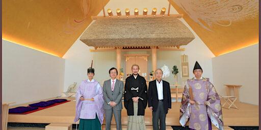 角川春樹 & 武蔵野坐令和神社 & 角川武蔵野ミュージアム