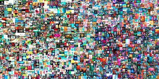 クリスティーズ:ビープルのデジタル作品 NFT(非代替性トークン)「The First 5,000 Days 」69.3 Million 米国ドル