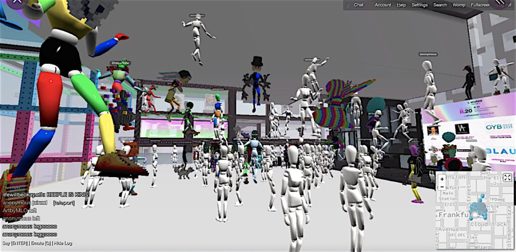 Digital Beeple Art Museum – art festival in the metaverse