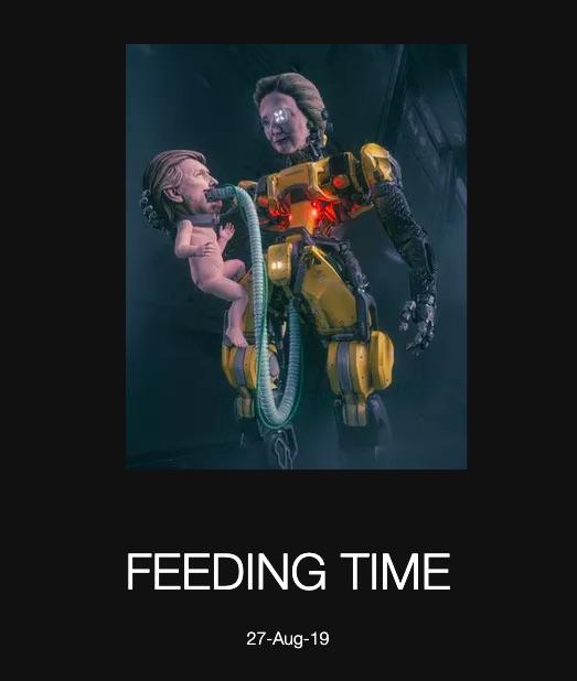 beeple-feeding-time