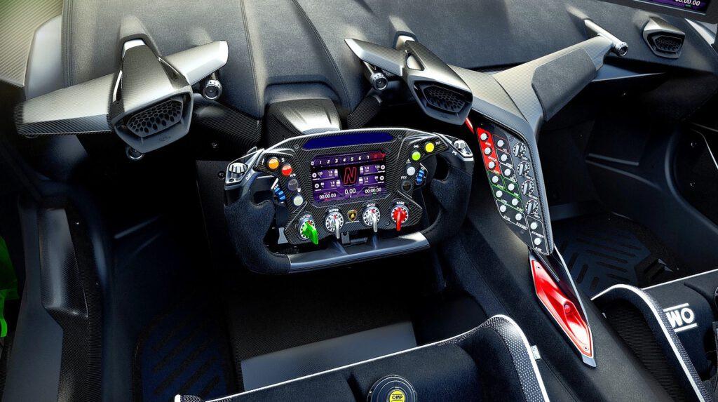 ランボルギーニ Lamborghini ESSENZA SCV12, cockpit