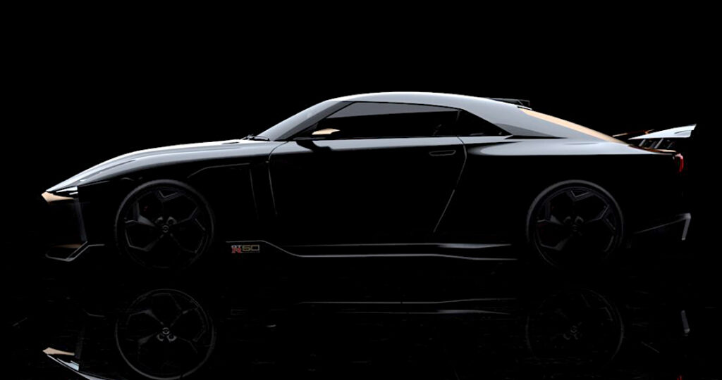日産 GT-R 50 by Italdesign