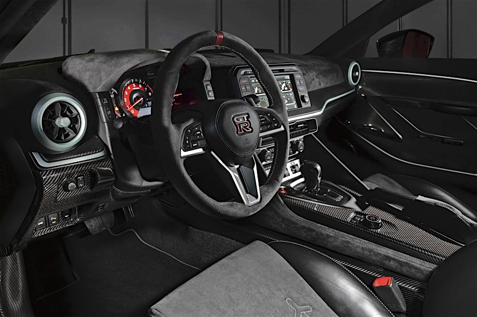 日産 NISSAN GT-R 50 by Italdesign, interior