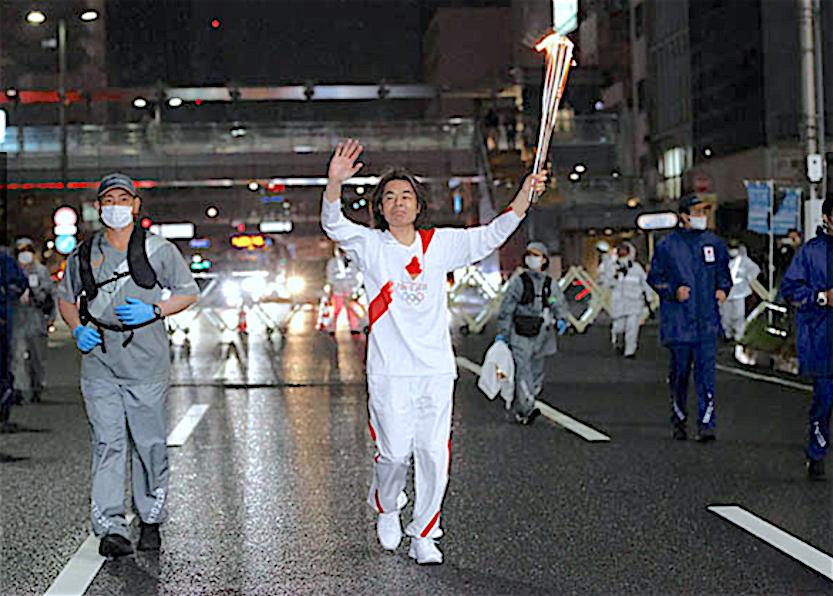 HIBINO Katsuhiko 日比野克彦@東京五輪聖火リレー