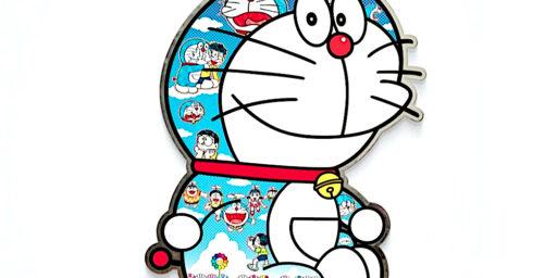 日本芸術文化の象徴、国民的な漫画・アニメキャラクタードラえもん、村上隆の作品として、オークションにて約6100万円で落札